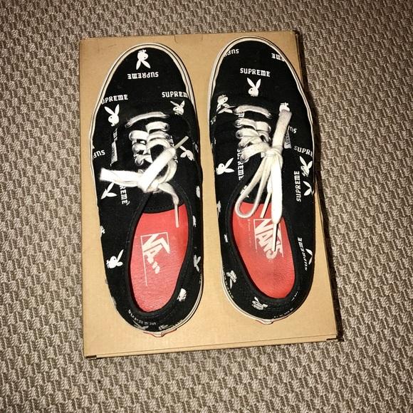 9d16fb29c5a8 Supreme Shoes   Playboy Vans   Poshmark